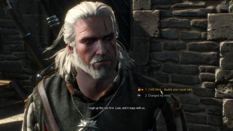 the witcher 3 - the play's the thing tips