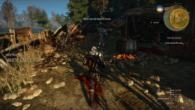 the witcher 3 - the volunteer quest guide