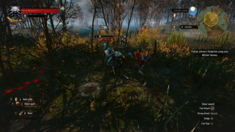 the witcher 3 - the whispering hillock