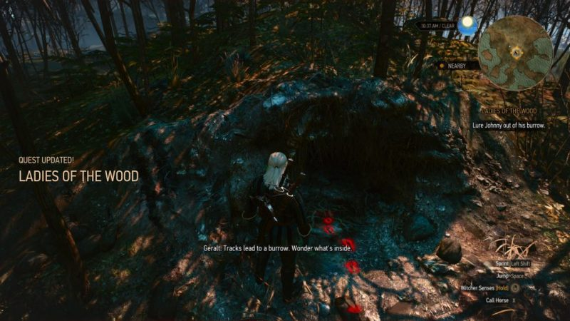 the witcher 3 - the whispering hillock guide