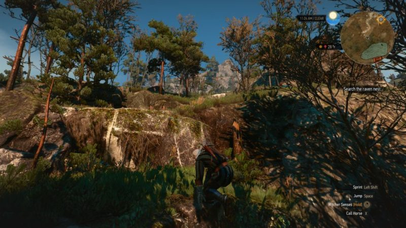 the witcher 3 - the whispering hillock quest walkthrough