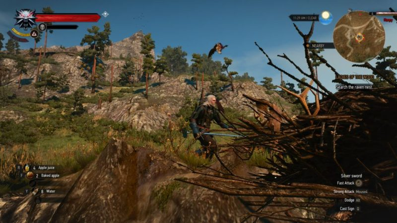 the witcher 3 - the whispering hillock who to trust