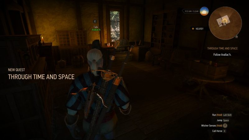 the witcher 3 - through time and space guide