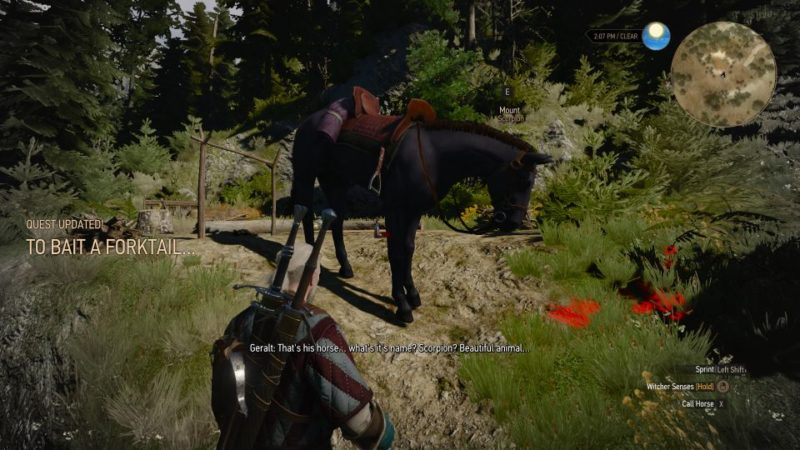the witcher 3 - to bait a forktail guide and tips