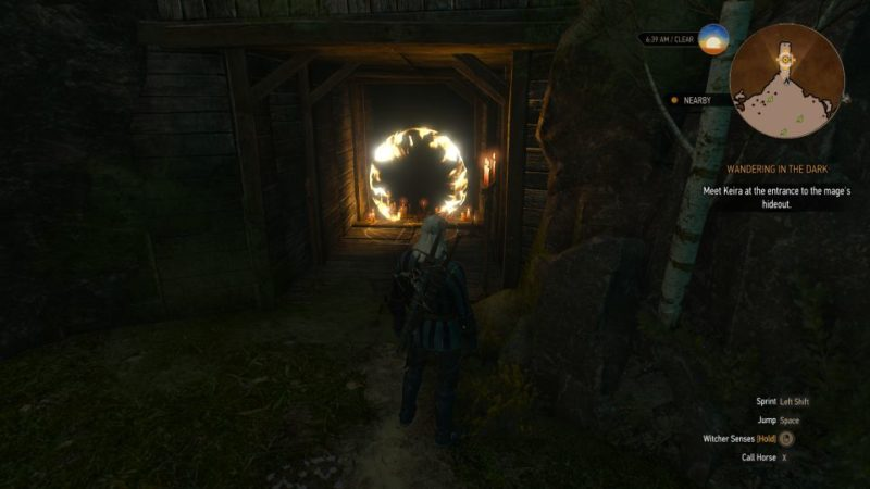 wandering in the dark - the witcher 3 guide