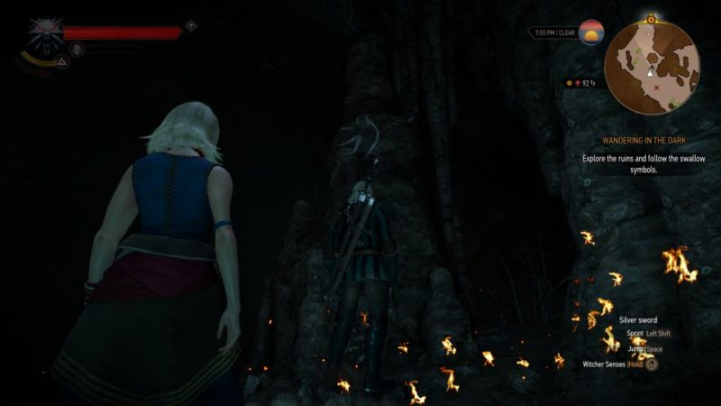 wandering in the dark - the witcher 3 wiki and guide
