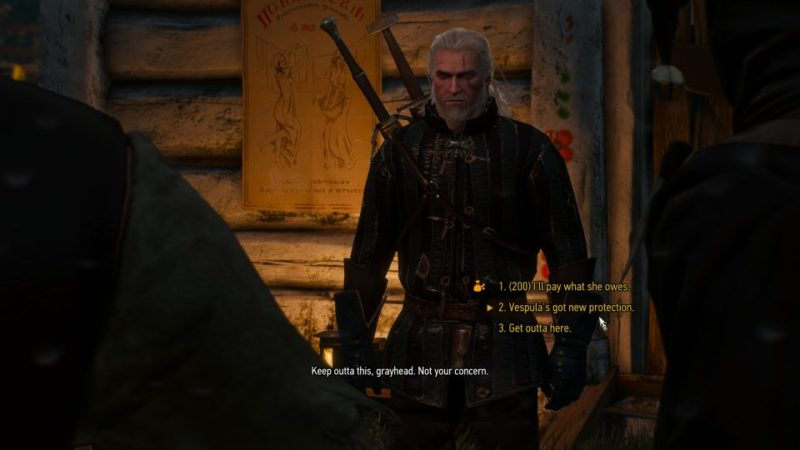 witcher 3 - broken flowers walkthrough