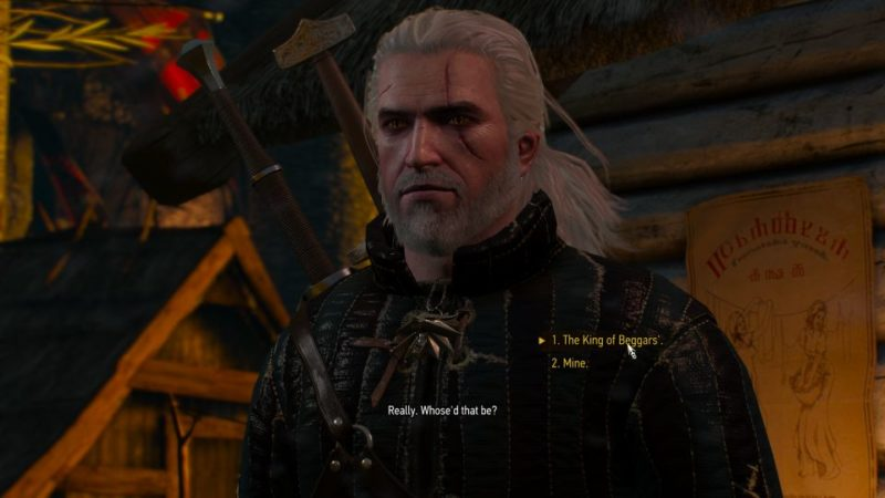 witcher 3 - broken flowers walkthrough and guide