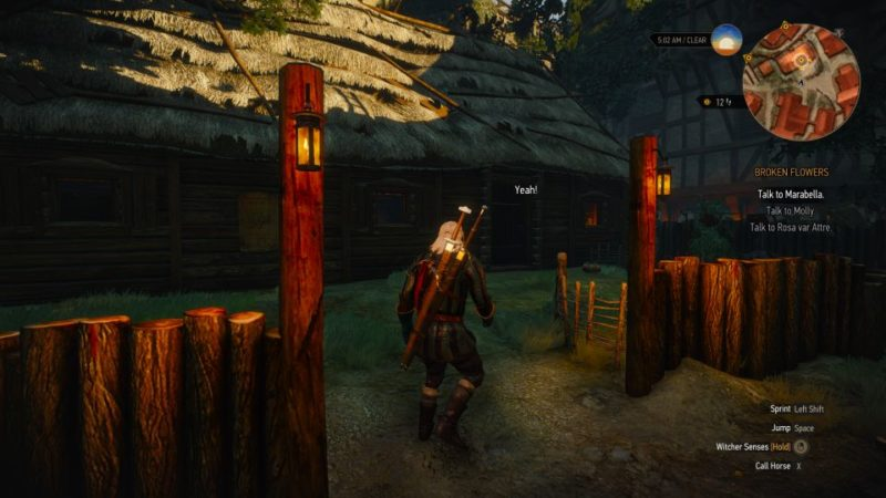 witcher 3 - broken flowers wiki and guide