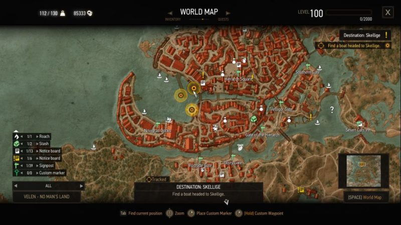 witcher 3 - destination - skellige guide