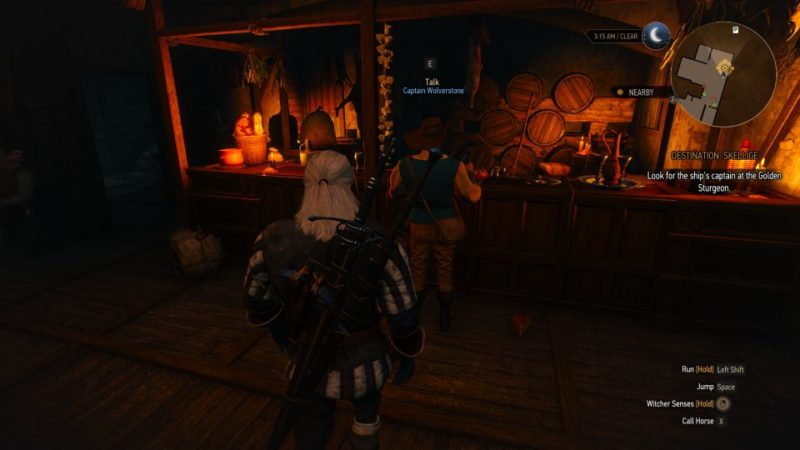 witcher 3 - destination - skellige quest guide