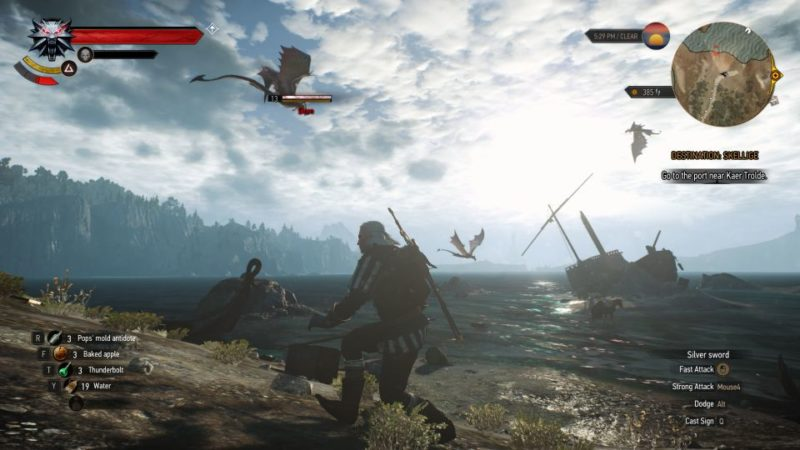 witcher 3 - destination - skellige wiki and guide