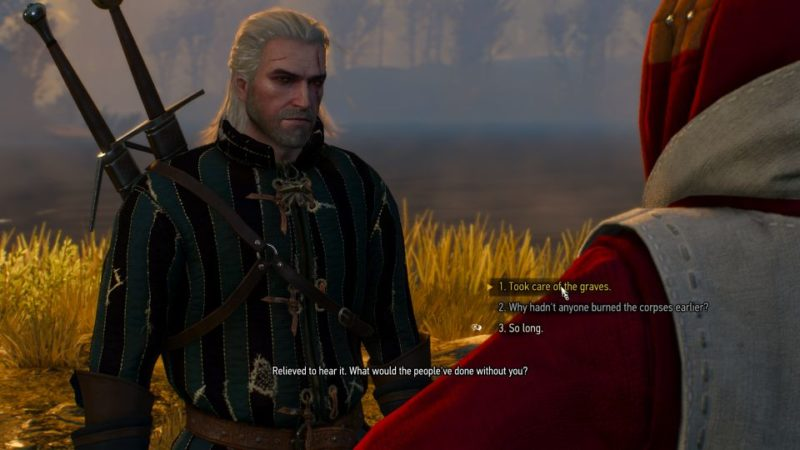 witcher 3 - funeral pyres wiki