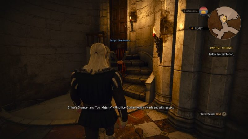 witcher 3 - imperial audience quest