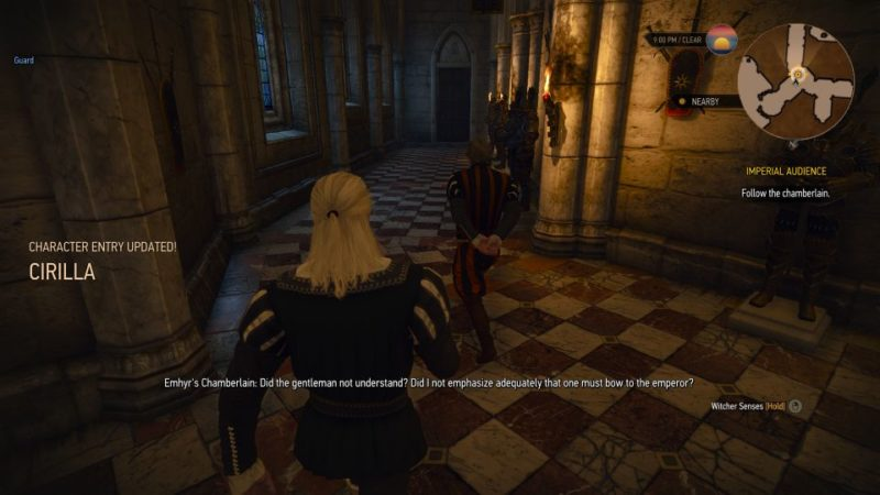 witcher 3 - imperial audience quest wiki