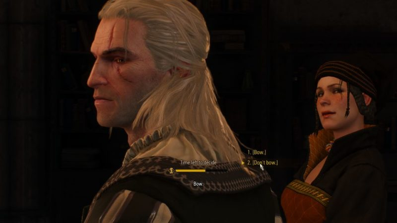 witcher 3 - imperial audience walkthrough