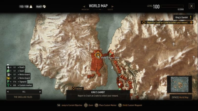 witcher 3 - king's gambit guide
