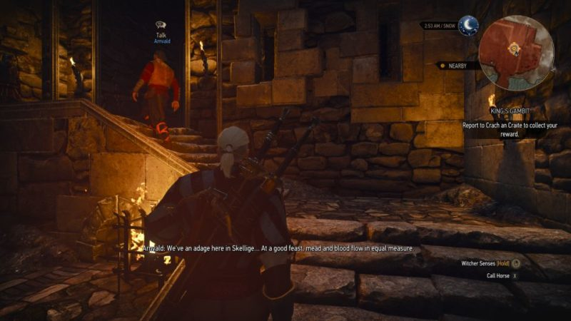 witcher 3 - king's gambit quest