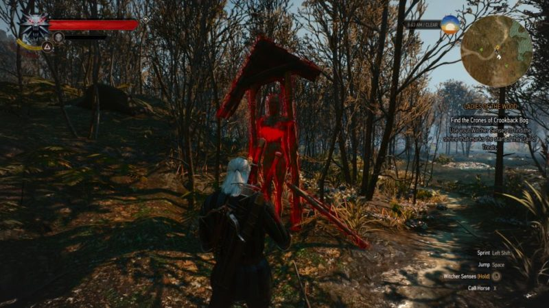 witcher 3 - ladies of the wood guide and tips