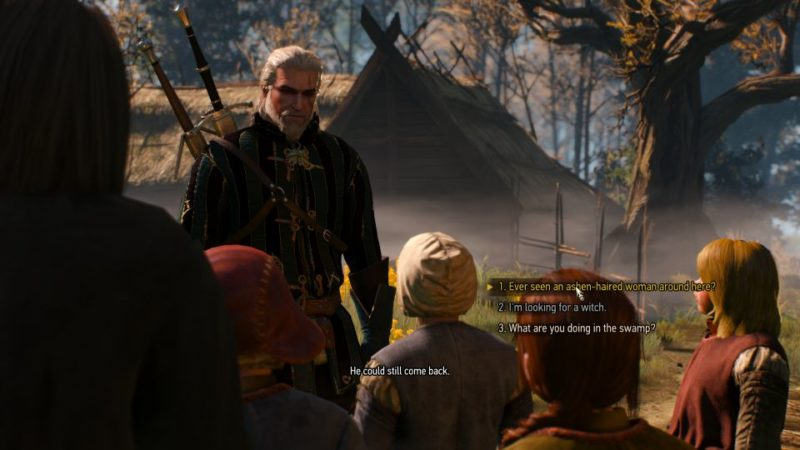 witcher 3 - ladies of the wood quest guide