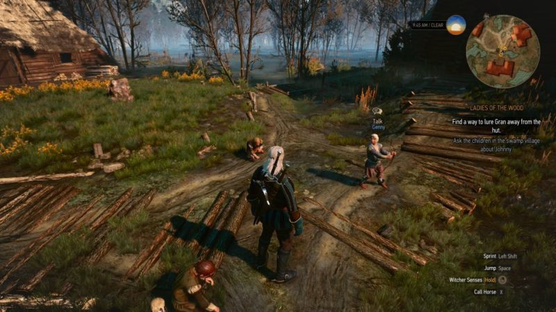 witcher 3 - ladies of the wood walkthrough and guide