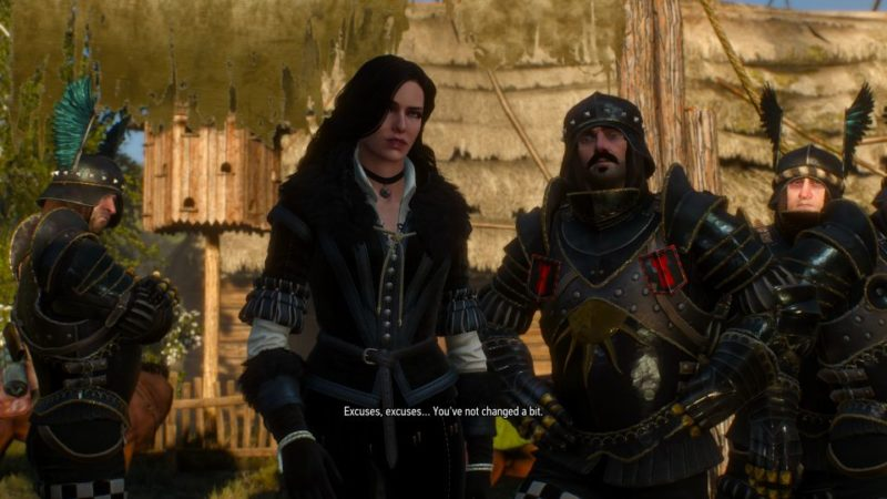 witcher 3 - lilac and gooseberies accept money or not