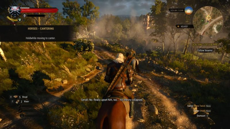 witcher 3 - lilac and gooseberies guide