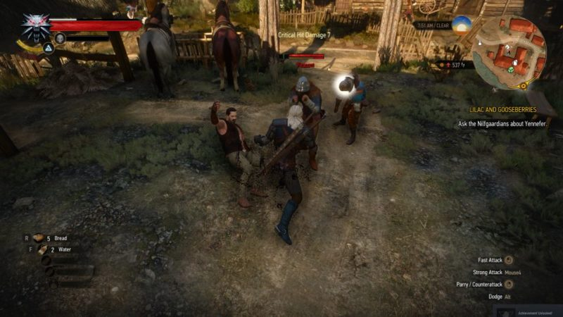 witcher 3 - lilac and gooseberies mission guide
