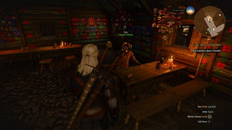 witcher 3 - lilac and gooseberies quest walkthrough