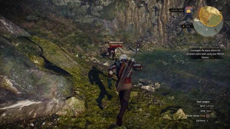 witcher 3 - muire d'yaeblen walkthrough