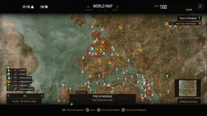 witcher 3 - pyres of novigrad guide
