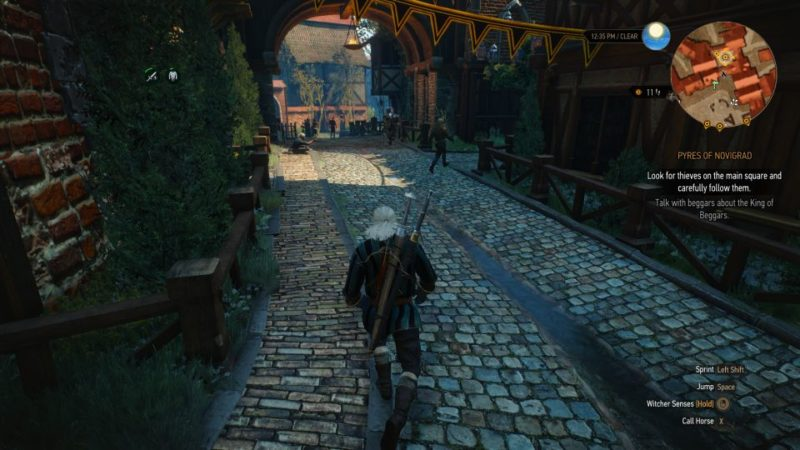 witcher 3 - pyres of novigrad mission