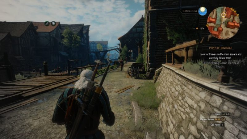 witcher 3 - pyres of novigrad mission walkthrough