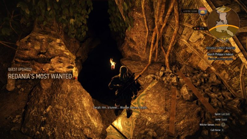 witcher 3 - redania's most wanted - should you give magescope to witch hunter