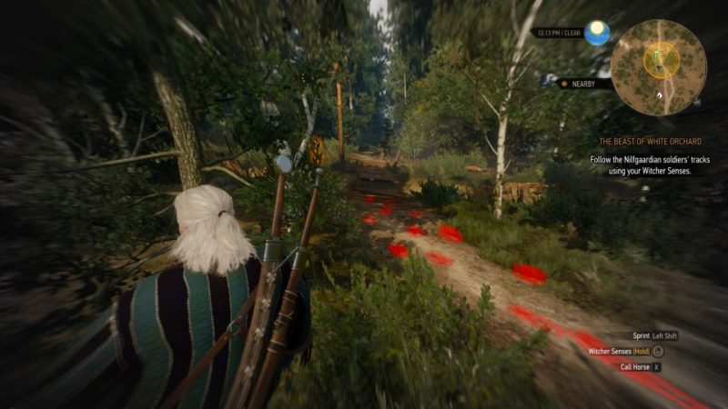 witcher 3 - the beast of white orchard how to kill griffin