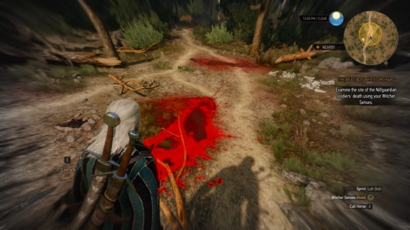 witcher 3 - the beast of white orchard mission walkthrough