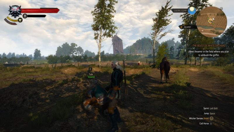 witcher 3 - the beast of white orchard walkthrough and guide