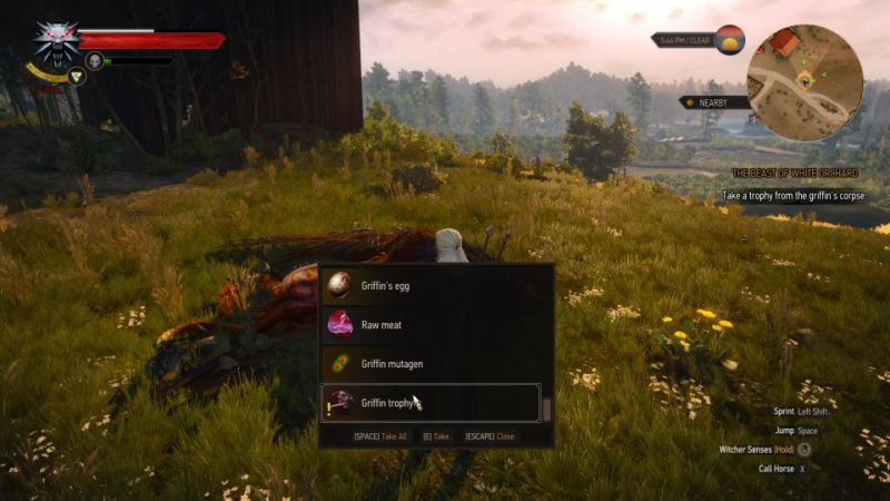 witcher 3 - the beast of white orchard wiki and guide