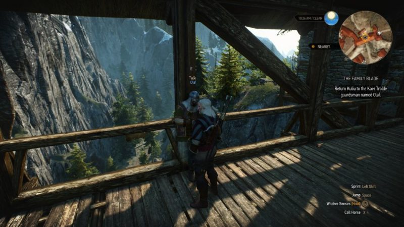 witcher 3 - the family blade tips and guide