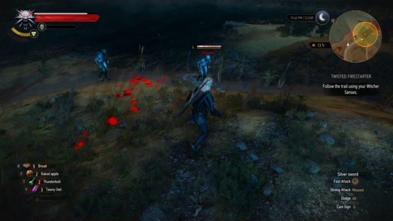 witcher 3 - twisted firestarter bring him to blacksmith