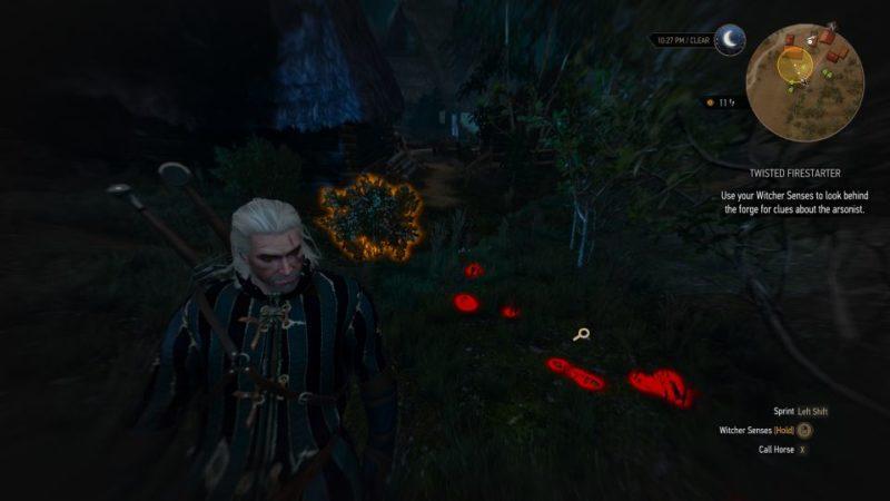 witcher 3 - twisted firestarter quest