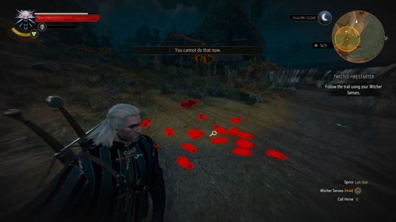 witcher 3 - twisted firestarter quest walkthrough