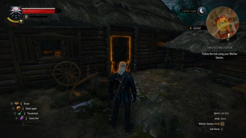 witcher 3 - twisted firestarter should you capture the man