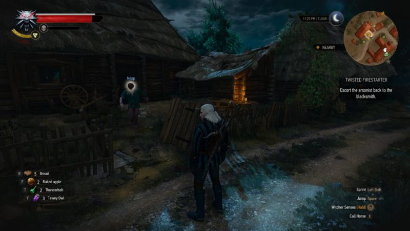 witcher 3 - twisted firestarter tips