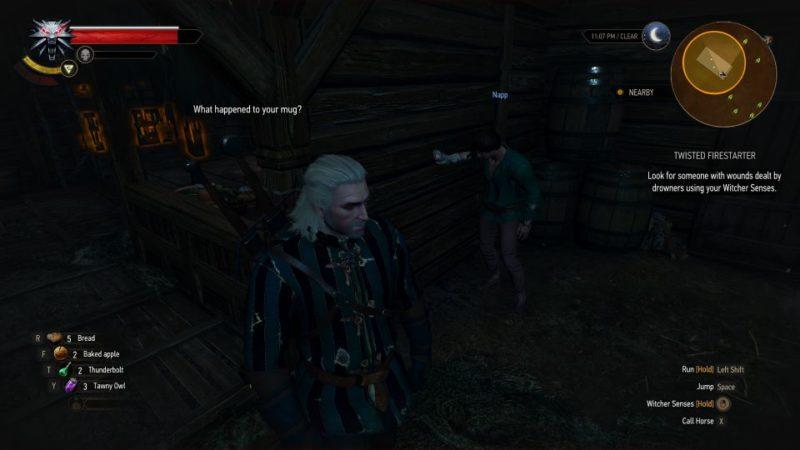witcher 3 - twisted firestarter walkthrough