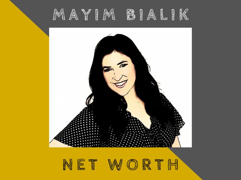 mayim bialik net worth