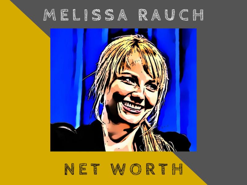 melissa rauch net worth