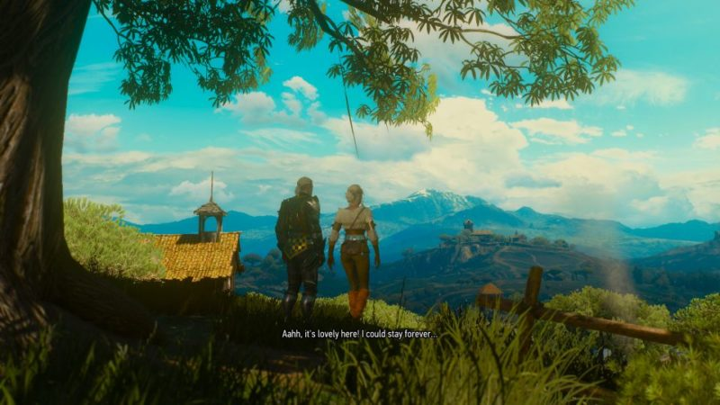 the witcher 3 ciri ending blood and wine