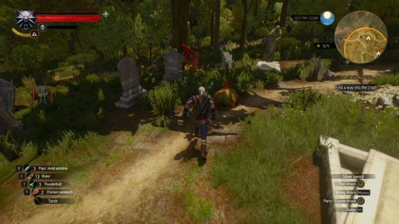 the witcher 3 - la cage au fou quest guide