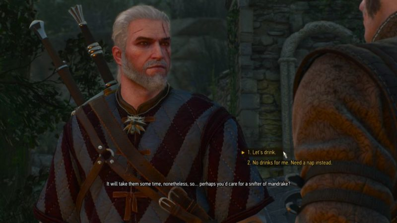 the witcher 3 - la cage au fou tips